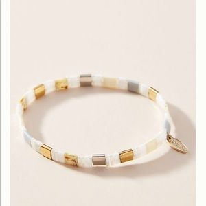 ANTHROPOLOGIE Argentina Stretch bracelet